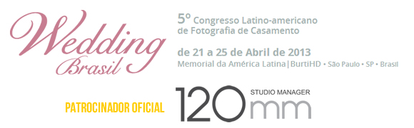 120mm Studio Manager Patrocina o congresso Wedding Brasil 2013